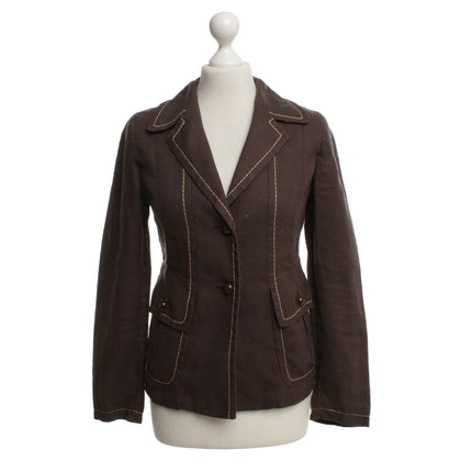 Max Mara Blazers a Brown