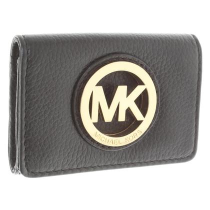 Michael Kors Portemonnaie in Schwarz