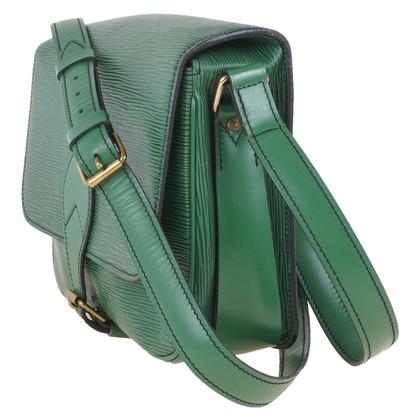 "Louis Vuitton ""Cartouchière GM Epi Leather"" in green"