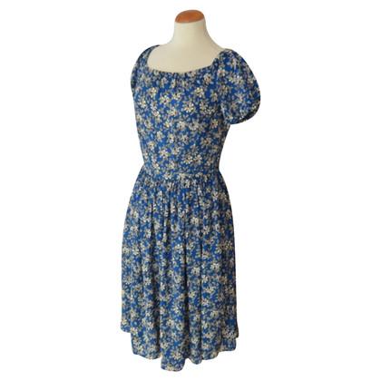 Prada Kleid mit Blümchen-Print