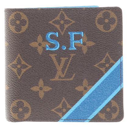 Louis Vuitton Geldbörse mit Monogram Canvas