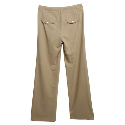 Marc Cain Plain trousers in beige