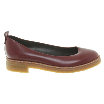 Lanvin Slipper in Bordeaux