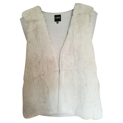 Costume National Vest konijn en wol