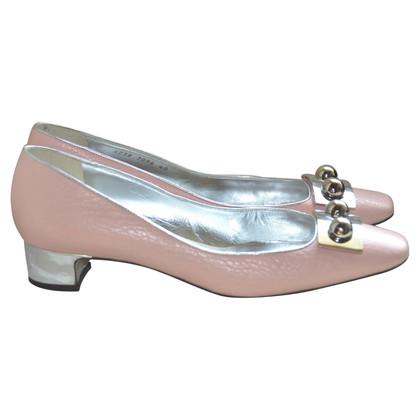 Dolce & Gabbana Ballerinas aus Leder
