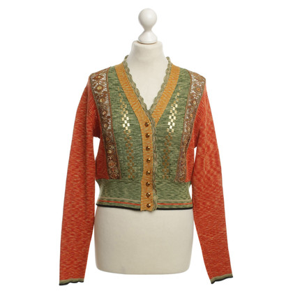 Jean Paul Gaultier Cardigan with lace