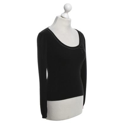Max Mara Top in zwart