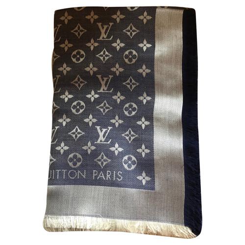 Louis Vuitton Châle en jean monogram - Acheter Louis Vuitton Châle ... 11709123fc5