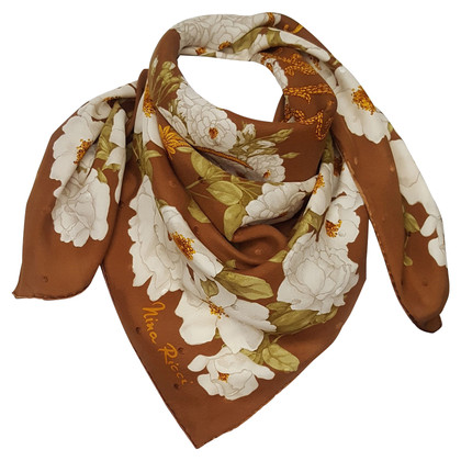 Nina Ricci Silk scarf with print