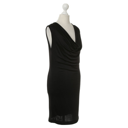 T by Alexander Wang Kleid in Schwarz