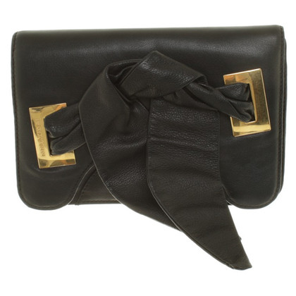 Armani Clutch in Schwarz