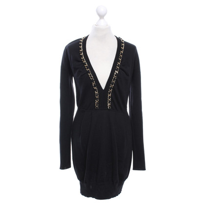 Elisabetta Franchi Long sweater in black