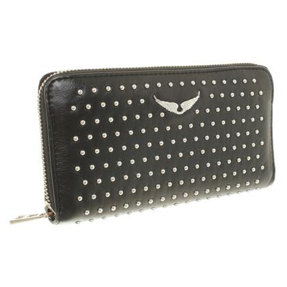 Zadig & Voltaire Wallet in black