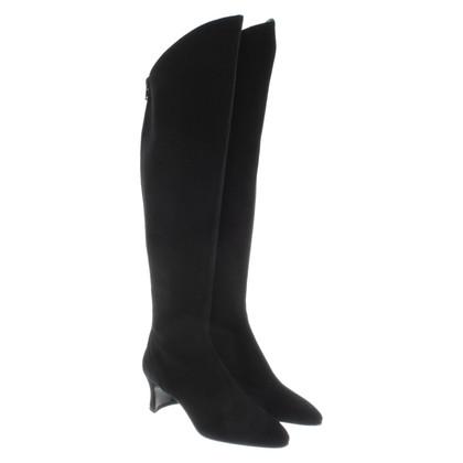 Yves Saint Laurent Bottes en noir