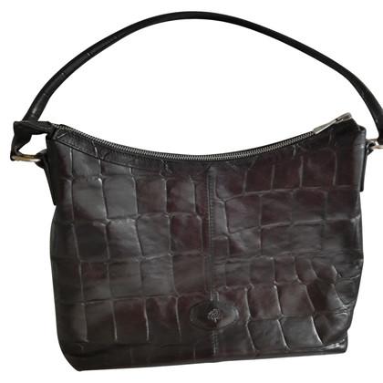 Mulberry Handtasche in Krokodilleder-Optik