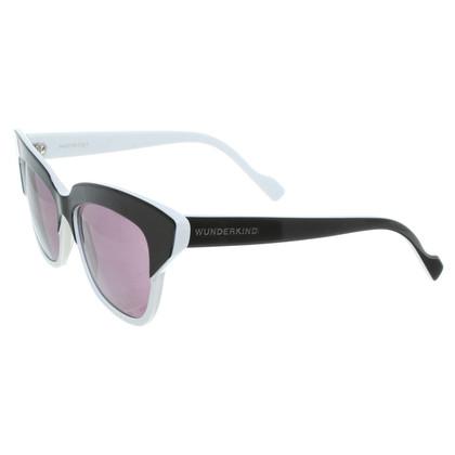 Wunderkind Sunglasses in black/white