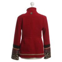 John Galliano Jas in rood