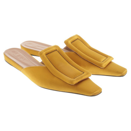 Marni Goldfarbene Slipper
