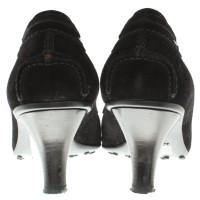 Car Shoe pumps Suede