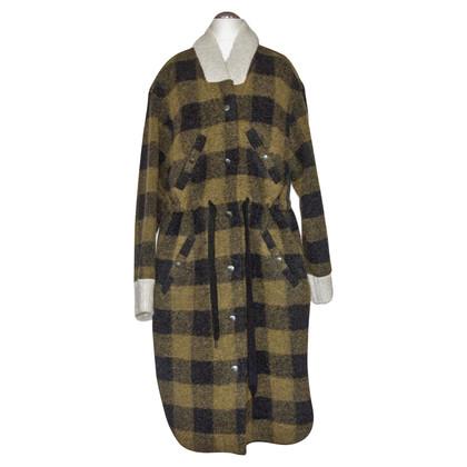 Isabel Marant Etoile Manteau à motif à carreaux
