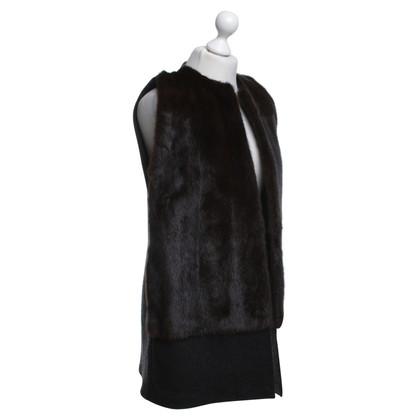 Other Designer Inès & Maréchal - vest with mink fur