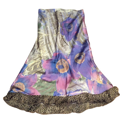 Roberto Cavalli skirt with floral pattern