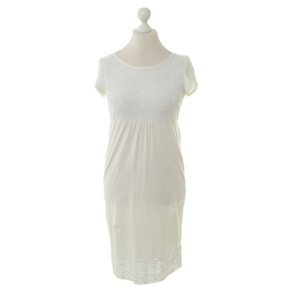 Max & Co White dress with lace
