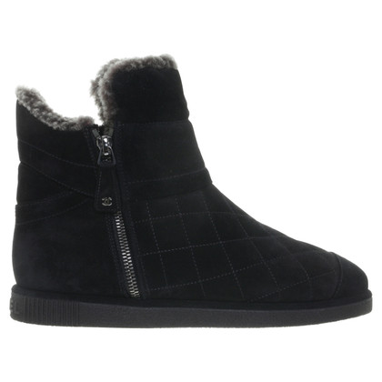 Chanel Ankle boots suede