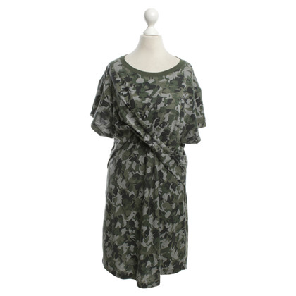 Karl Lagerfeld Dress with camouflage pattern