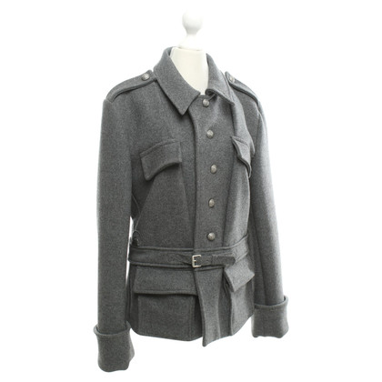 Balenciaga Gray jacket with cashmere