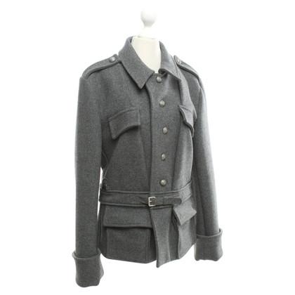 Balenciaga Graue Jacke mit Kaschmir