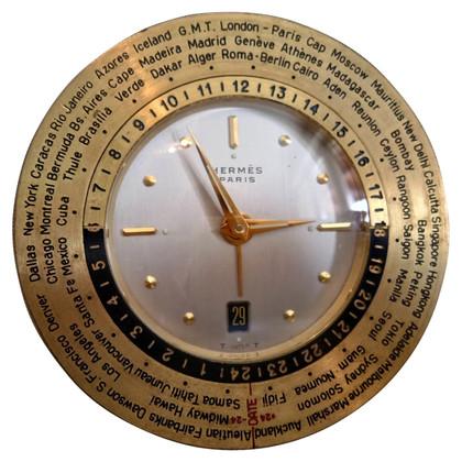 Hermès World Time Travel Desk Klok
