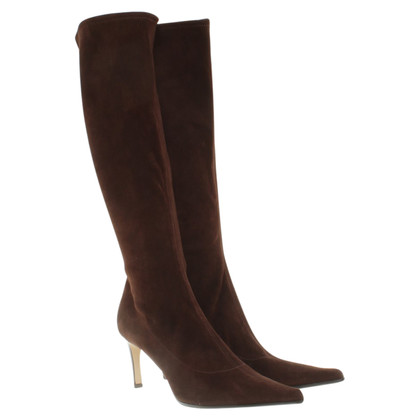 Sergio Rossi Suede leather boots