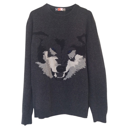 MSGM Woolpulli with wolf