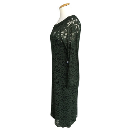 Diane von Furstenberg Kanten jurk met zijde inhoud