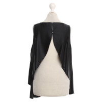 Halston Heritage Silk blouse in black