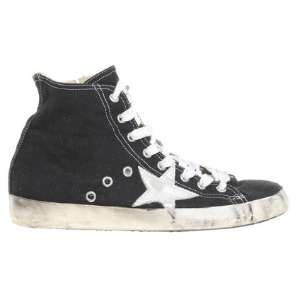 Leather Crown Sneakers met ster