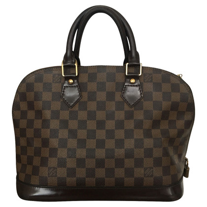 "Louis Vuitton ""Alma Damier Ebene Canvas"""