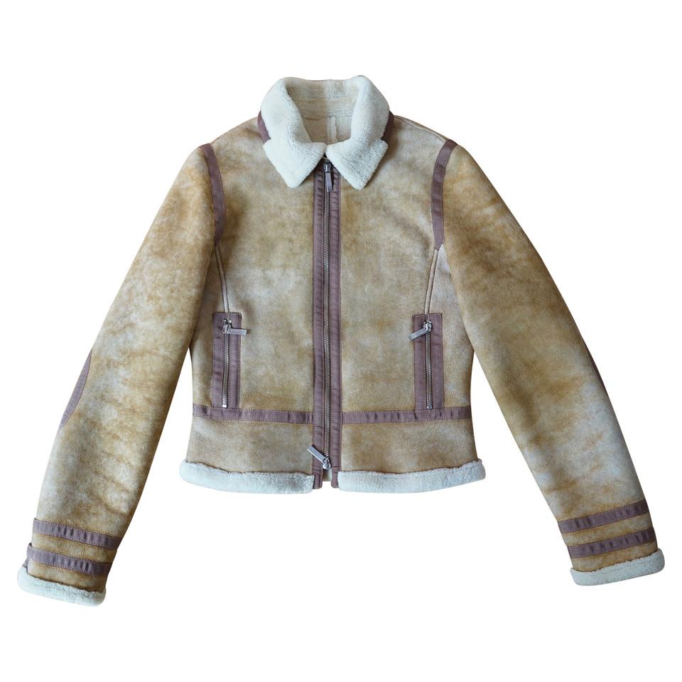 burberry veste en peau de mouton acheter burberry veste en peau de mouton second hand d. Black Bedroom Furniture Sets. Home Design Ideas