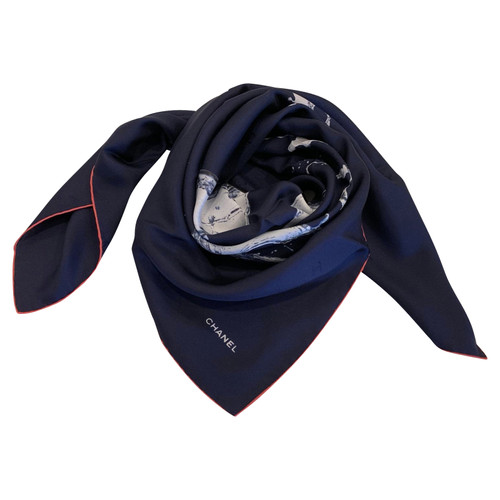 Chanel foulard de soie - Acheter Chanel foulard de soie d occasion ... db0105500a8
