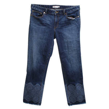 Tory Burch Jeans con applicazione