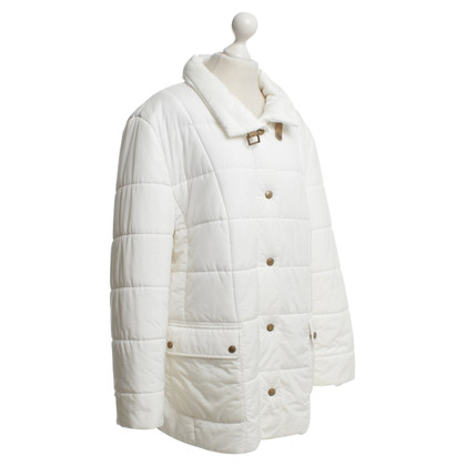 Basler Coat in white