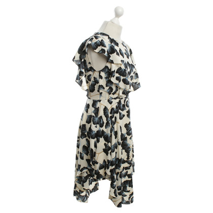 BCBG Max Azria Bluse mit floralem Print