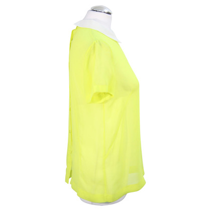 French Connection top in Neon Yellow