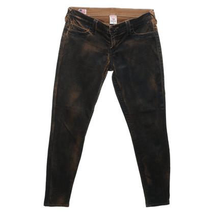 True Religion Pantalon en look usé