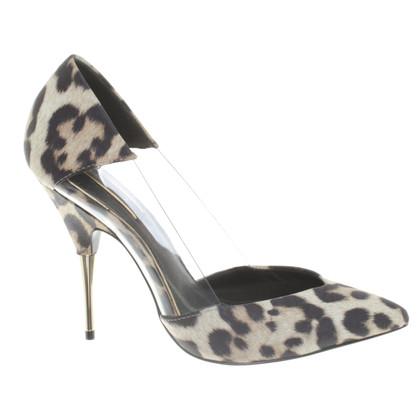Rachel Zoe pumps avec motif léopard