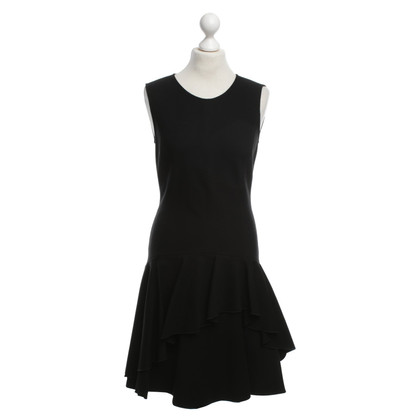 Halston Heritage Dress with flounce trim