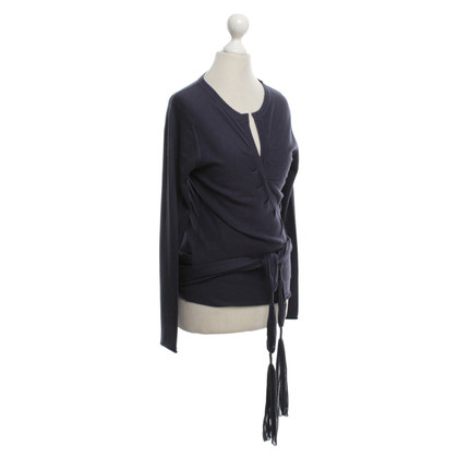 Marc Cain Vest in donkerblauw