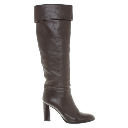Pollini Boots in donkerbruin