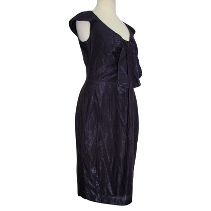 Paul Smith purple metallic bow dress